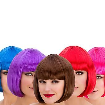 Wicked Ladies Diva Short Bob with Fringe Hair Wig
