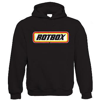Rotbox, Mens Funny Classic Car Hoodie (S to 5XL)