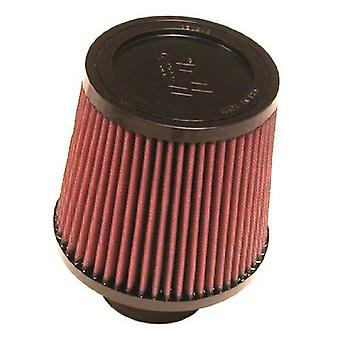 K&N RU-4960 Universal Clamp-On Air Filter: Round Tapered; 2.75 in (70 mm) Flange ID; 5.5 in (140 mm) Height; 6 in (152 m