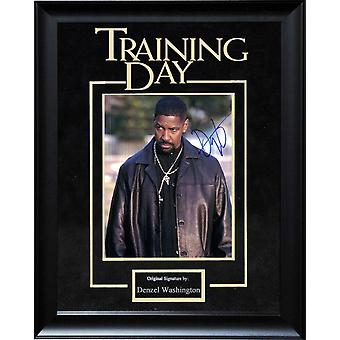 Training Day - Signed by Denzel Washington - Framed Artist Series