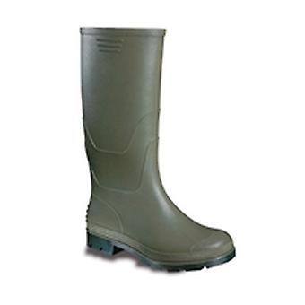 V12 VW057 Vital Value Green/Black PVC Non-Safety Wellington Size 8