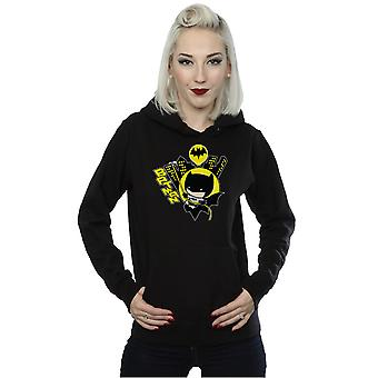 DC Comics Women's Chibi Batman Swinging Hoodie