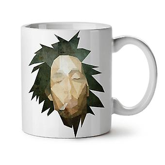 Bob Marley Pot NEW White Tea Coffee Ceramic Mug 11 oz | Wellcoda