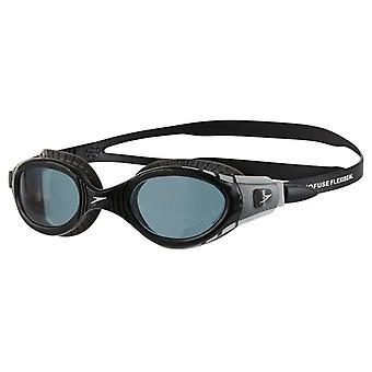 Speedo Futura Biofuse Flexiseal Swim Goggle - Smoke Lenses - Black