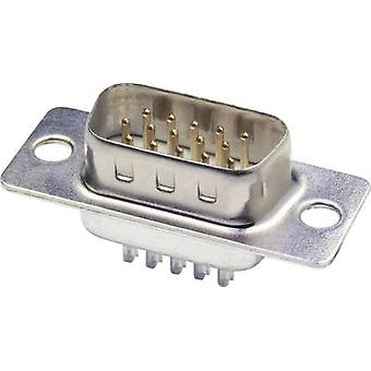 D-SUB pin strip 180 ° Number of pins: 26 Solder bucket econ conn