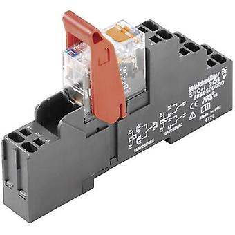Relay RIDERSERIES Weidmüller RCIKITP230VAC 1CO LD/PB SPDT-CO 16 A