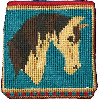 Ricky Dun Pony Needlepoint Kit