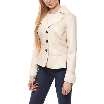 B.C.. best connections by heine ladies short jacket coat beige