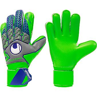 UHLSPORT TENSIONGREEN SOFT SUPPORTFRAME Goalkeeper Gloves Size