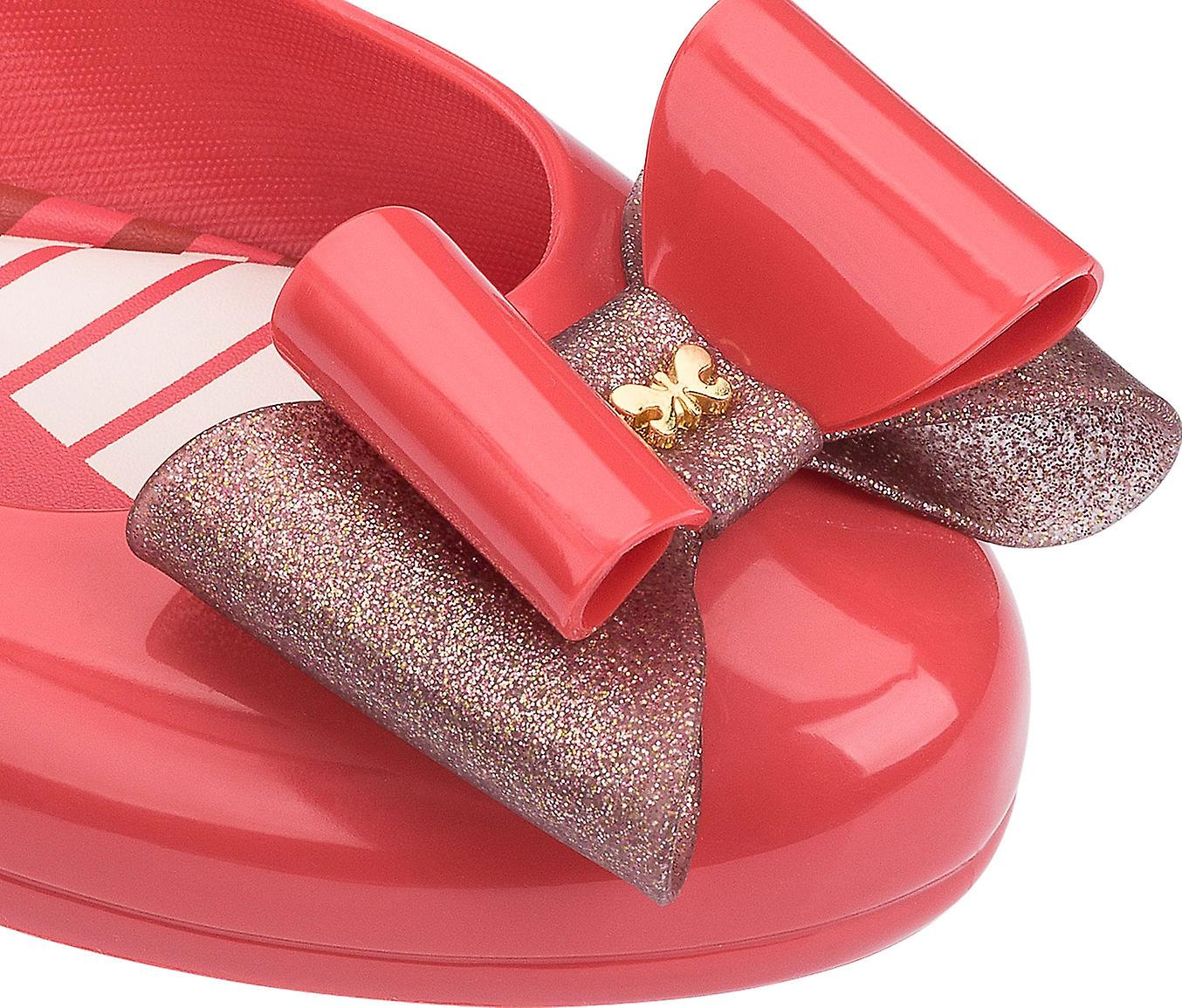 Pop 3 Coral Flat Bow Zaxy Ballet Womens Pumps gFxnptWq