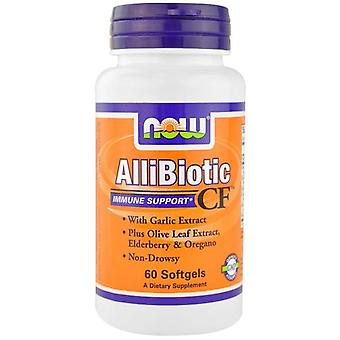 Nu Foods Allibiotic Cf 60 Softgels (Sport, idrottarens hälsa, multivitaminer)
