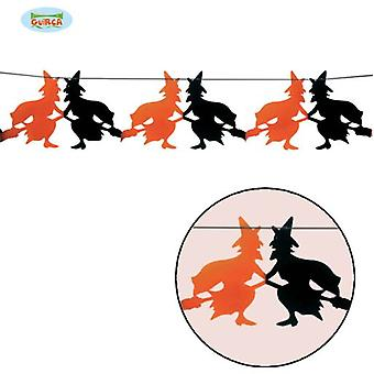 Guirca Fantasy Wreath 23 X 300 Cm Halloween (Babies and Children , Costumes)