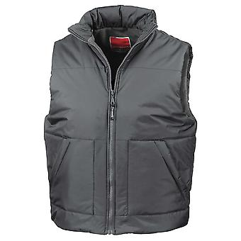Result Unisex Mens and Womens Fleece Jackets Lined Bodywarmer Gilet
