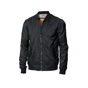 Nimbus Mens Tribeca Nylon Zipped Pockets Bomber Jacket