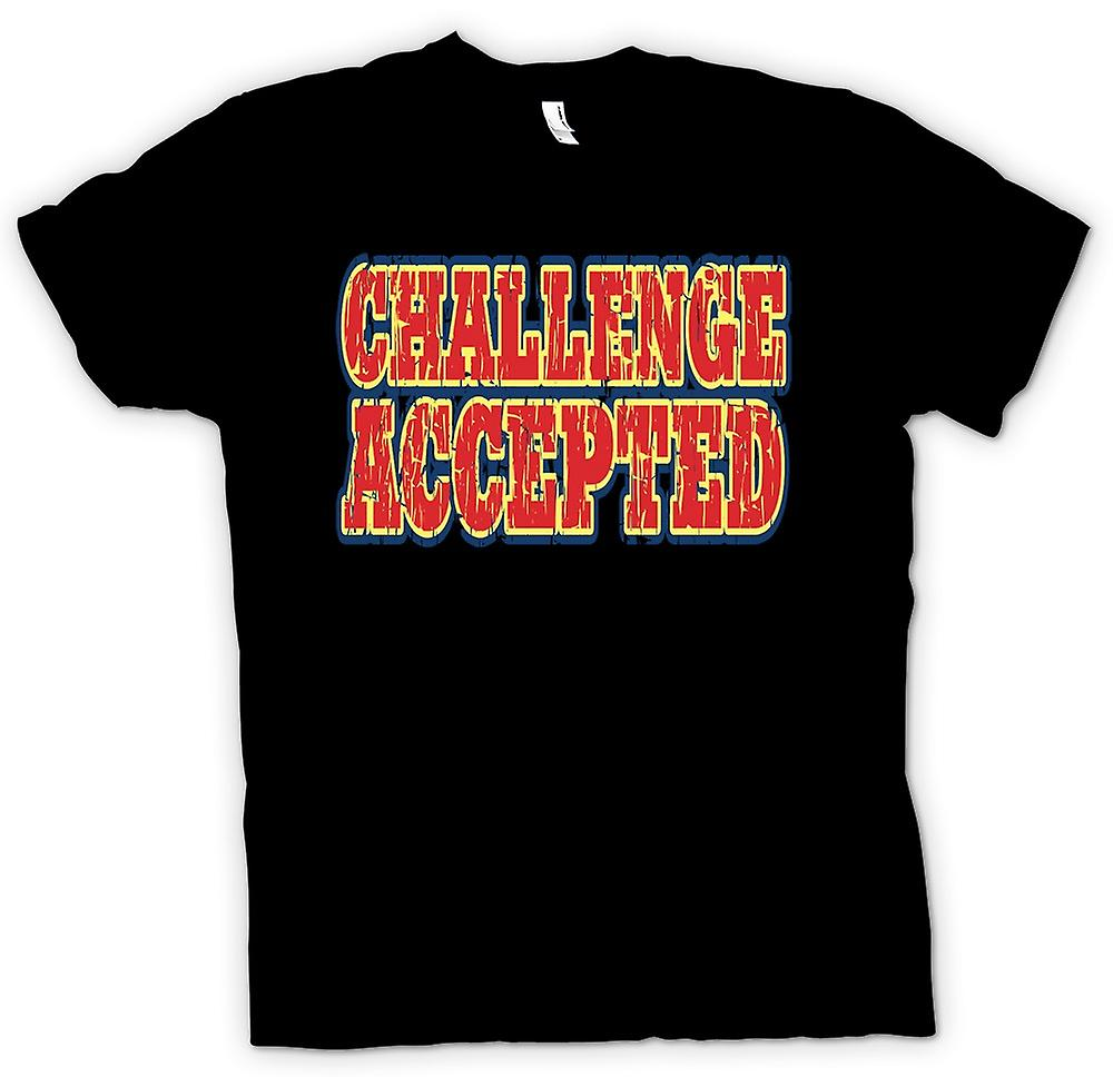 Womens T-shirt - Challenge Accepted