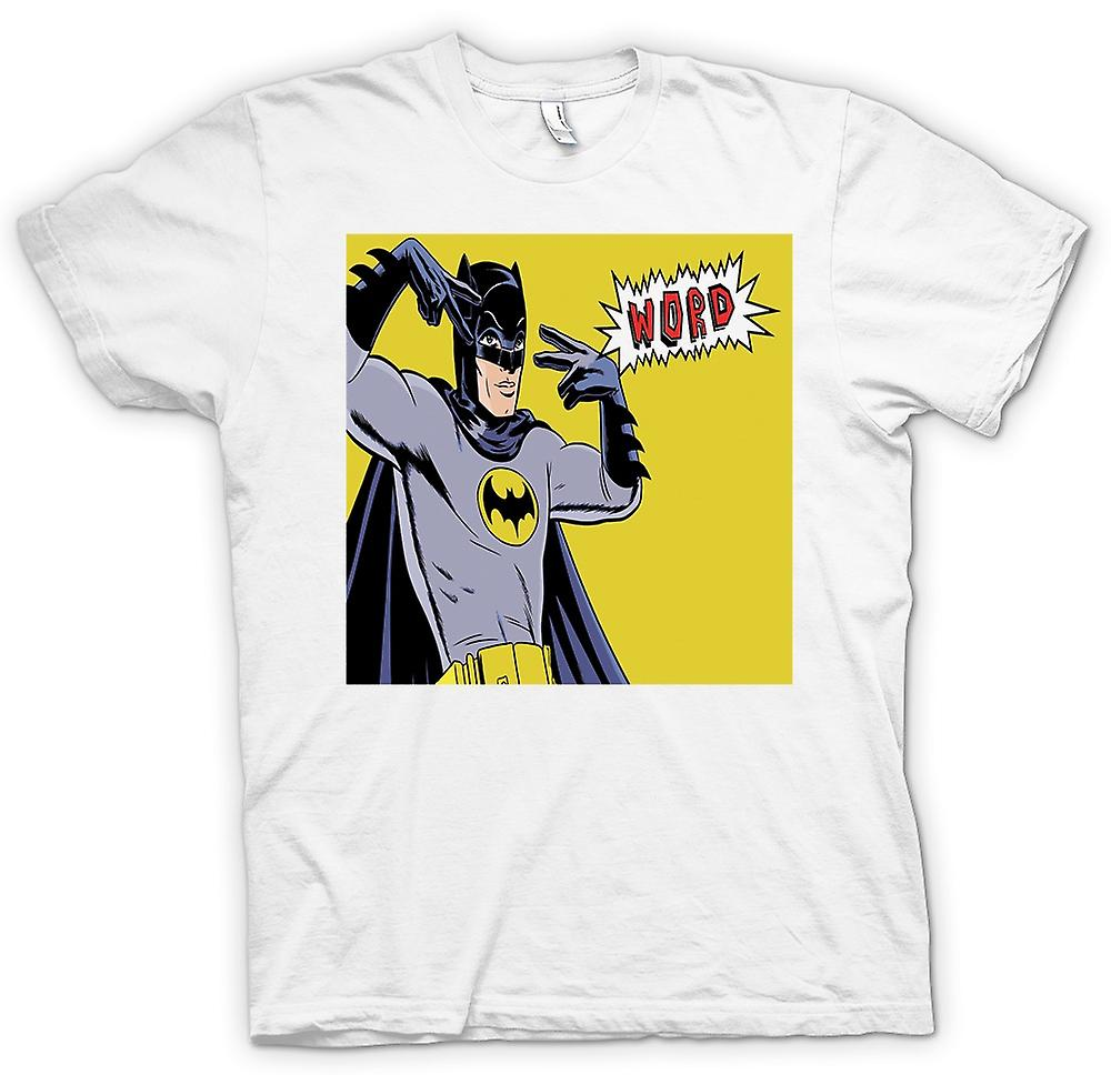 Heren T-shirt - Batman Word - Funny