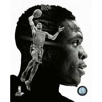 Russell Westbrook profilo Photo Print