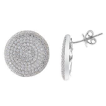Orphelia Silber 925 Ohrringe Mikro Pavee Zirc ZO-5794