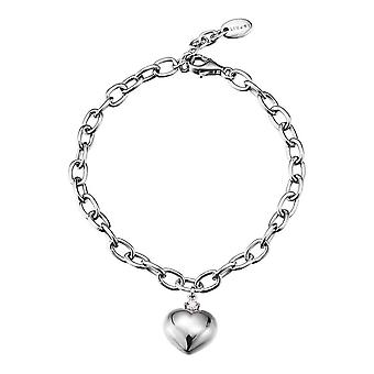 ESPRIT women's Bangle silver of shades of love ESBR91496A180