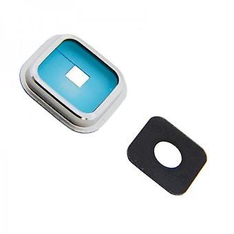 Cornice in vetro di fotocamera fotocamera per vetro fotocamera Samsung Galaxy S5 G900 SM G900F