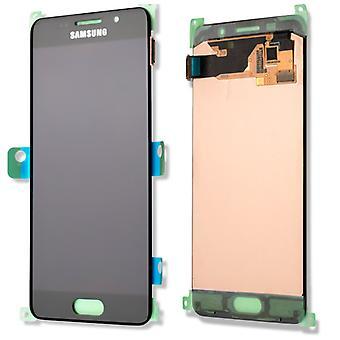 Display LCD Komplettset GH97-18249B Schwarz für Samsung Galaxy A3 A310F 2016