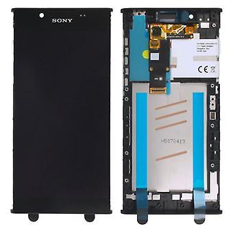 Sony Display LCD Komplett Einheit mit Rahmen für Xperia L1 G3311 G3312 G3313 Schwarz Ersatzteil