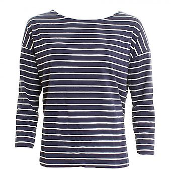 French Connection Spring Tim Tim Long Sleeve Round-Neck Womens Top
