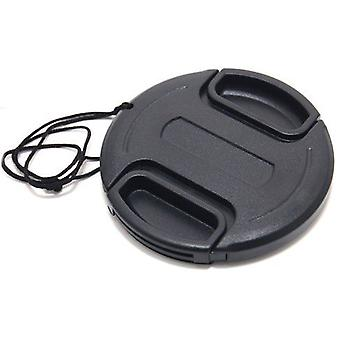 Dot.Foto 72mm Snap On Lens Cap with string / leash for Cameras, Camcorders and Lenses - Canon, Fujifilm, JVC, Leica, Nikon, Olympus, Panasonic, Pentax, Samsung, Sigma, Sony..