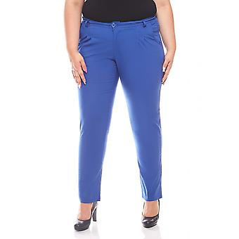 sheego casual Chino pants plus size Royal Blue