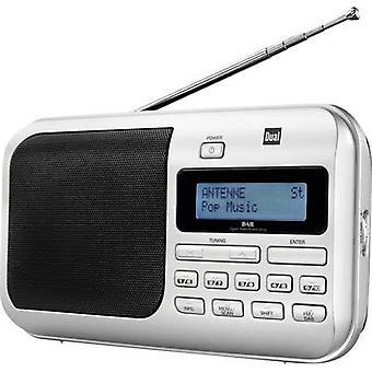 Dual DAB 4 DAB+ Portable radio DAB+, FM Silver