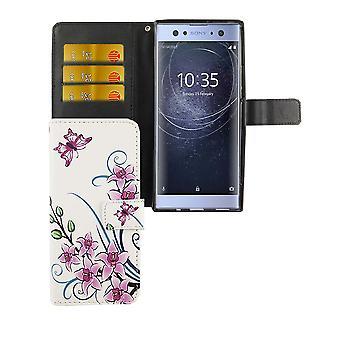 Mobilne pokrowiec na telefon komórkowy Sony Xperia XA2 ultra kwiat lotosu