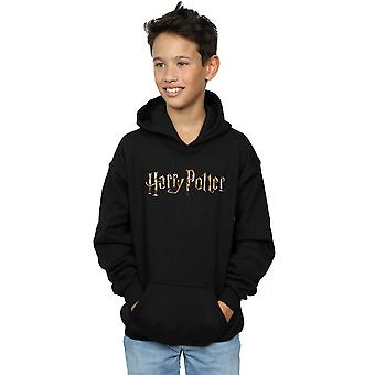 Harry Potter Boys Full Colour Logo Hoodie