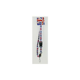 Union Jack Wear Union Jack GB Fabric Lanyard