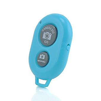 ONX3 Wireless Bluetooth Camera Shutter Remote Control Compatible with all IOS and Android Devices For Ulefone Future ( Baby Blue )