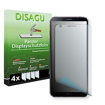 LG G6 display protector - Disagu tank protector protector (deliberately smaller than the display, as this is arched)