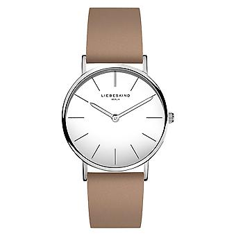 LIEBESKIND BERLIN ladies watch wristwatch leather LT-0130-LQ