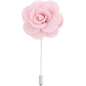 David Van Hagen bloem revers Pin - roze