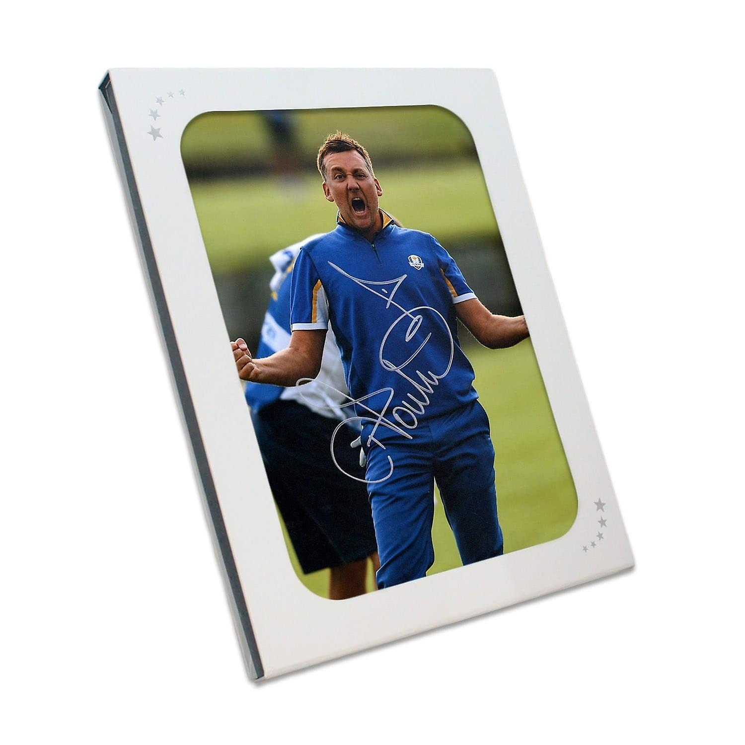 Ian Poulter Signed Photo  The Posthomme In Gift Box