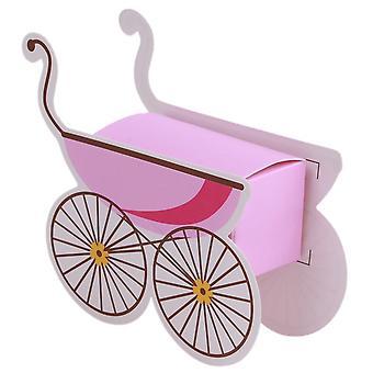 TRIXES Baby handkärra godis lådor 25st rosa
