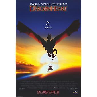 Dragonheart film affisch (11 x 17)
