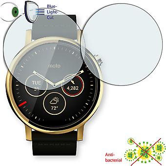 Motorola Moto 360 2nd Gen. 42 mm screen protector - protector Disagu ClearScreen
