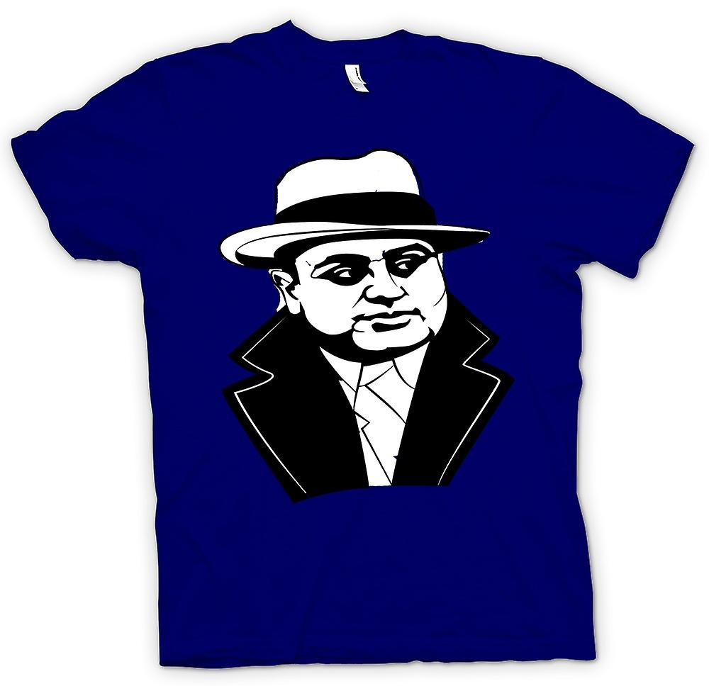 Mens T-shirt - Al Capone - Gangster