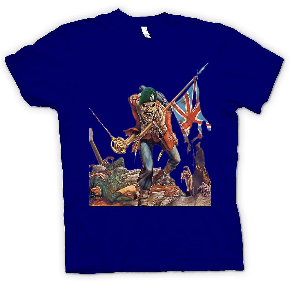 Hommes T-shirt - The Trooper - Royal Marine Eddie