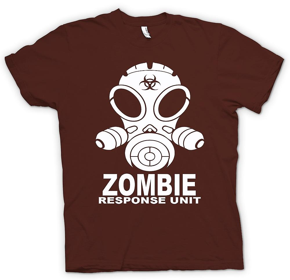 Hombres camiseta - Zombie Response Unit - Gasmask