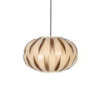 DESIGN LAMP NATURAL WOOD DESIGNER LAMP PENDANT LAMP CEILING LIGHT PENDANT