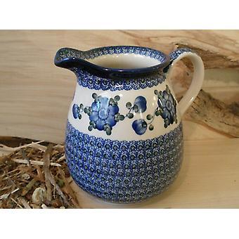 Jar, 2000 ml, height 18 cm, 9 - traditional polish pottery - BSN 5033