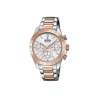 Festina Chronograph quartz ladies Watch with stainless steel band F20398/1