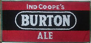Burton Ale cotton bar towel