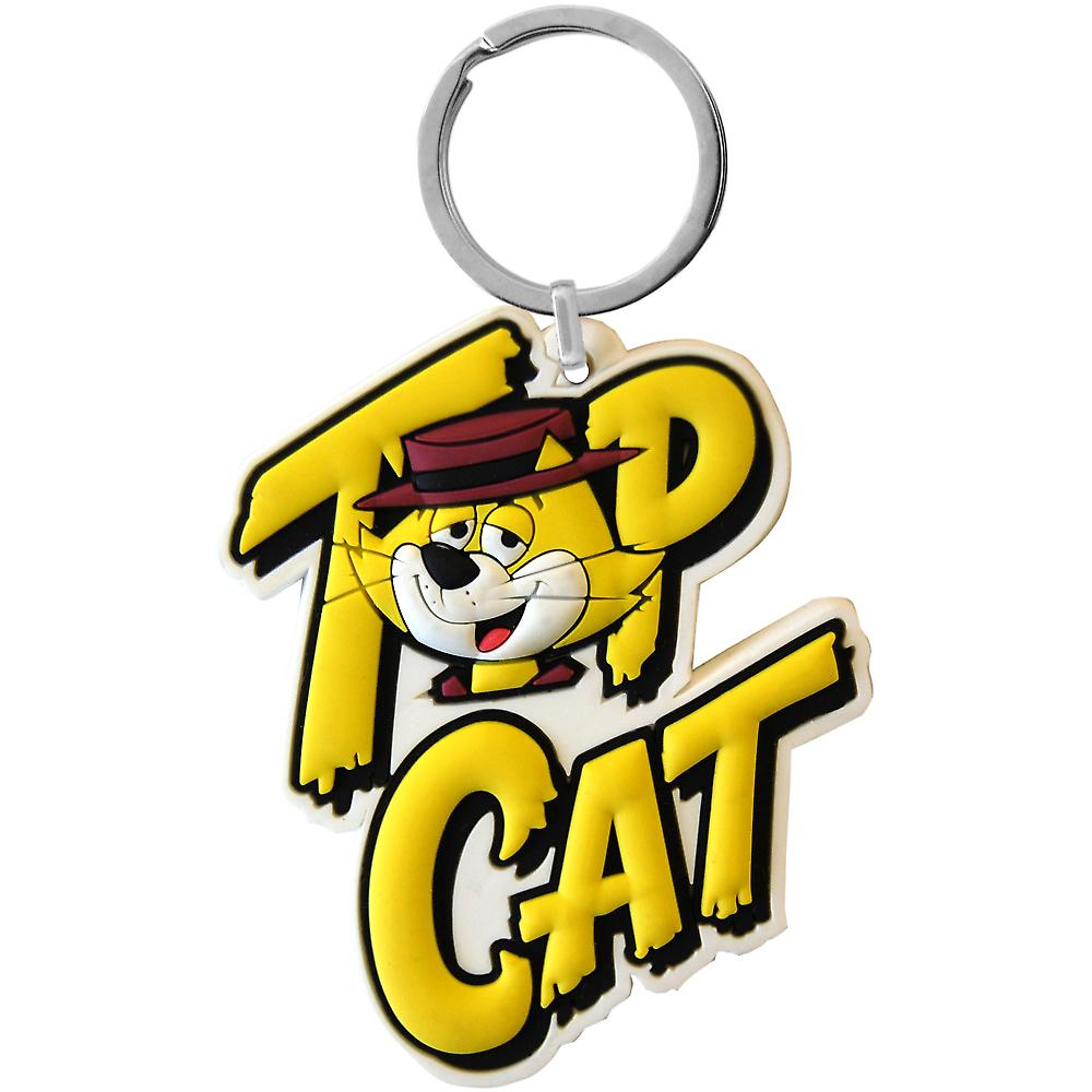 Top Cat PVC flexible keyring (wg)