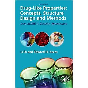 Ontwerp van de structuur van de concepten van drugLike eigenschappen en methoden van Adme toxiciteit optimalisatie door Di & Li